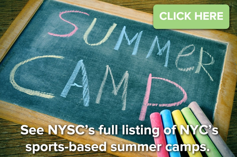 click for a full listing of NYC's sports-based summer camps